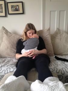 Postnatal reflexology