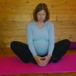 Caroline pregnancy yoga