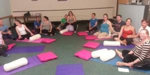Partner preg yoga workshop