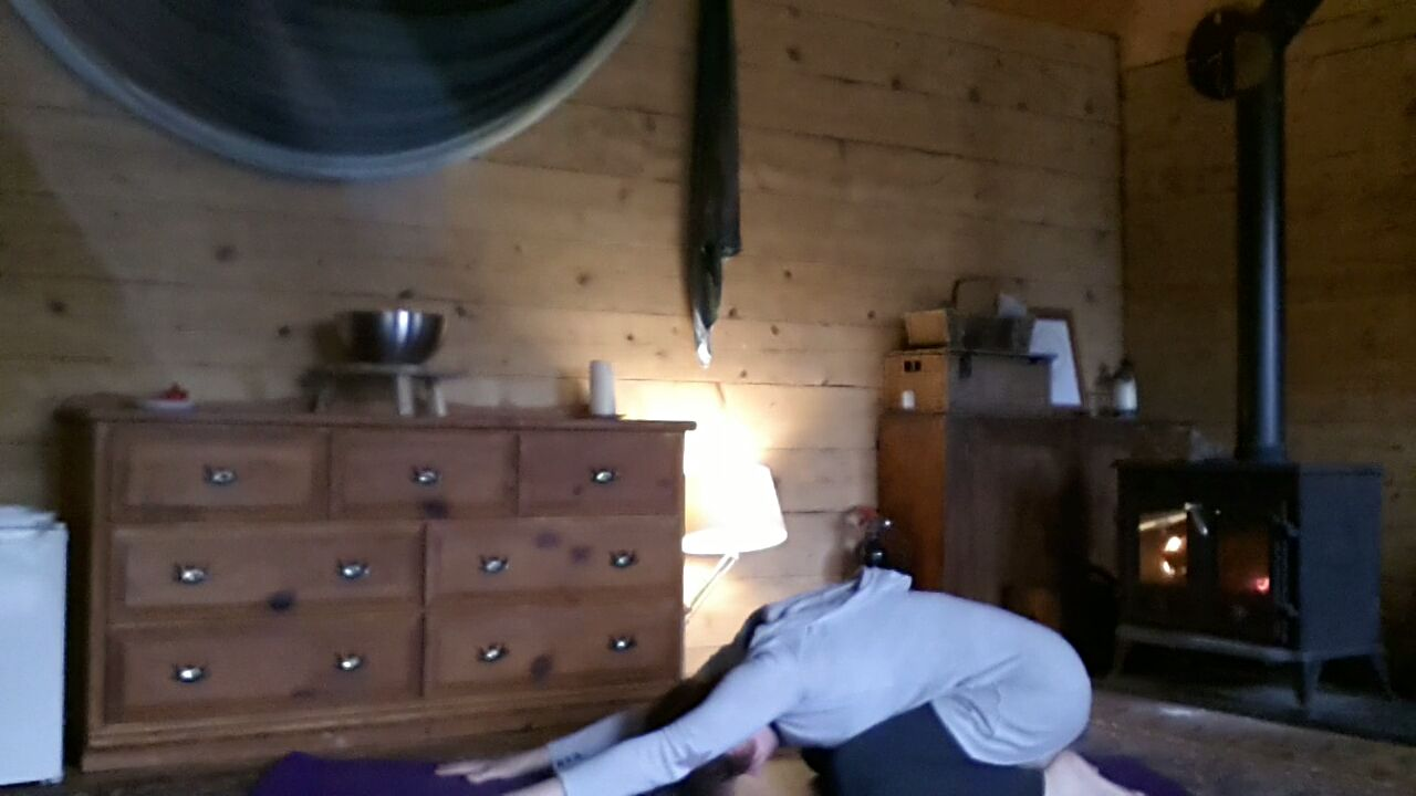 Self Practise in the Lodge
