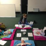 baby reflexology group